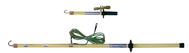 High Voltage Grounding Stick : Seb est kv voltage discharge stick germany